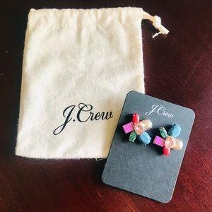 J. Crew Gem Cluster Earrings